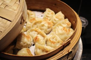 Singapur gefüllte Dumplings