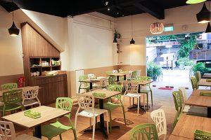 Leckeres veganes Essen in Singapur