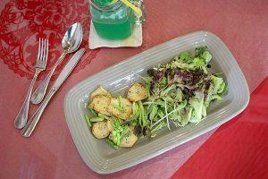 Vegan Essen im Loving Hut Singapur
