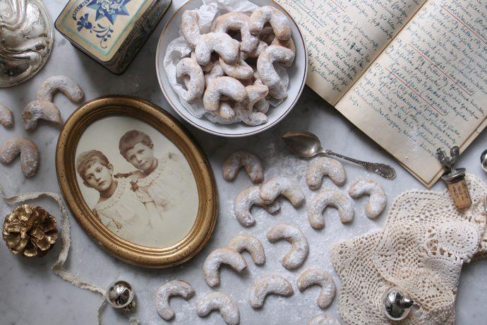 Ein hundert Jahre altes Rezept für Vanillekipferl