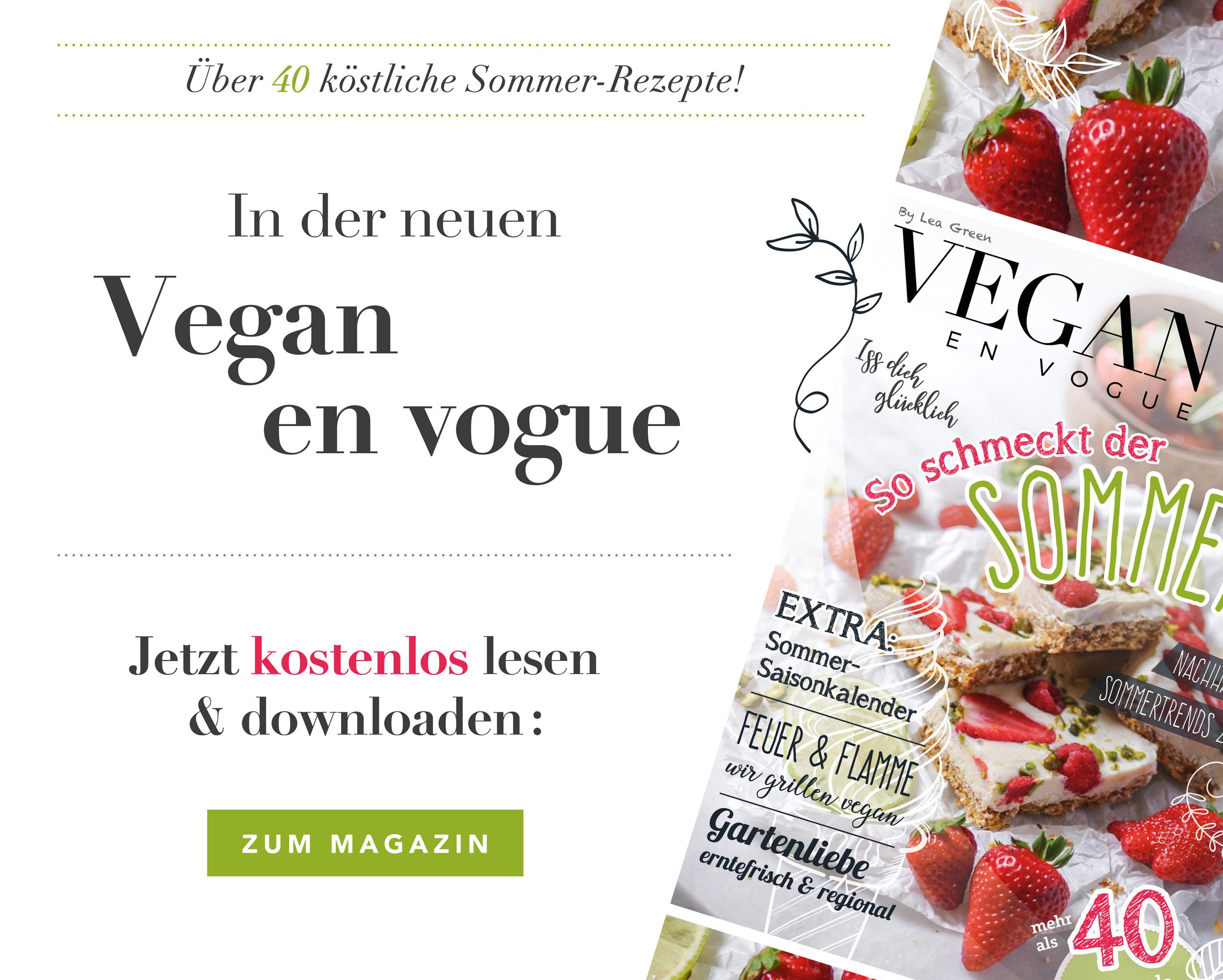 Vegan en Vogue - Sommerausgabe 2020